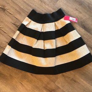 Xhilaration Skirts - Black & Gold Skirt